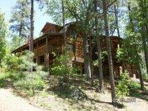PRESCOTT Log Cabin - Cool Pines 5400+sf on 4 private acres of Pine trees!! / PP1411701846