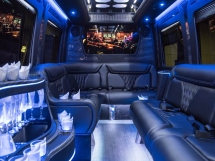 Mercedes Benz 2018 LIMO BUS for 14 Guests!!!